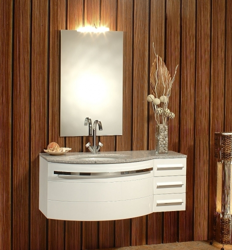Arredo bagno mobile holly con lavabo in cristallo for Top arredo